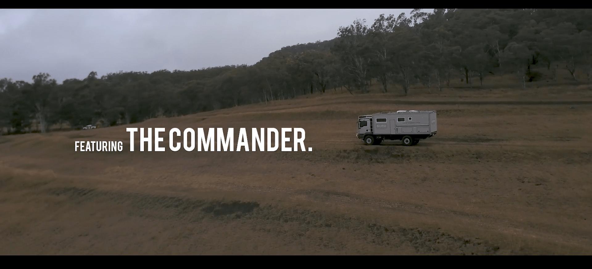 SLRV Expedition commander - AusGarage video production-min